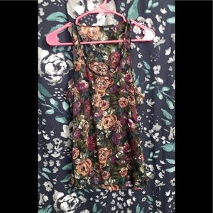 ANA size large sheer floral top
